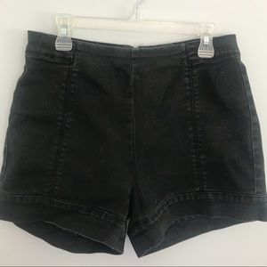 Urban Outfitters Black High Waisted Shorts